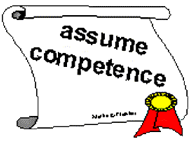 assume competance